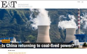 Is China returning to coal-fired power? Engineering and technology