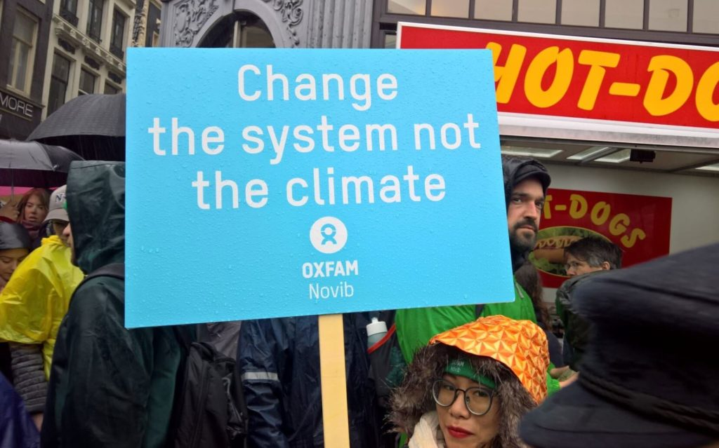 Change ths system not the climate